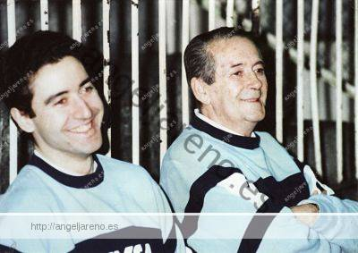 Fotografía de Ignacio Pinedo y Ángel González Jareño