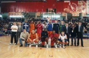 Foto de baloncesto de Ángel González Jareño en el All Star de La ACB