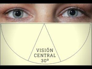Imagen que recoge uno de los principios básicos defensivos: la visión central